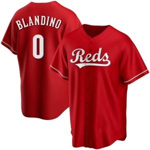 Alex Blandino Cincinnati Reds Replica Alternate Jersey - Red