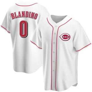 Alex Blandino Cincinnati Reds Replica Home Jersey - White