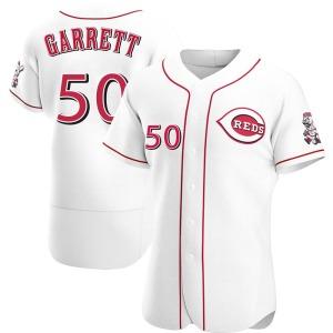 Amir Garrett Cincinnati Reds Authentic Home Jersey - White