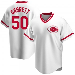 Amir Garrett Cincinnati Reds Replica Home Cooperstown Collection Jersey - White