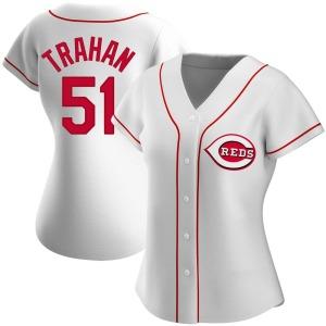 Blake Trahan Cincinnati Reds Women's Replica Home Jersey - White