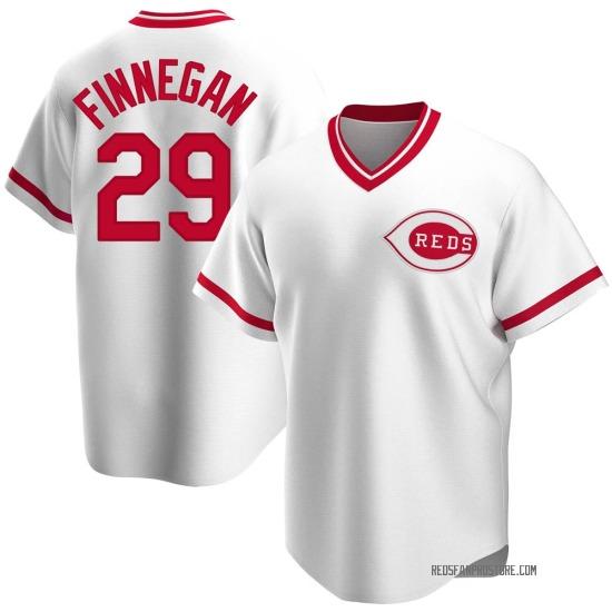 Brandon Finnegan Cincinnati Reds Replica Home Cooperstown Collection Jersey - White
