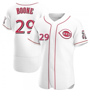 Bret Boone Cincinnati Reds Authentic Home Jersey - White