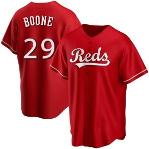 Bret Boone Cincinnati Reds Youth Replica Alternate Jersey - Red