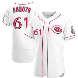 Bronson Arroyo Cincinnati Reds Authentic Home Jersey - White