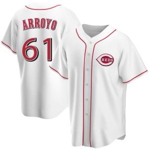 Bronson Arroyo Cincinnati Reds Youth Replica Home Jersey - White
