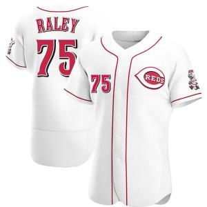 Brooks Raley Cincinnati Reds Authentic Home Jersey - White