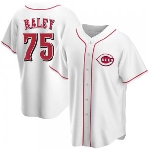 Brooks Raley Cincinnati Reds Youth Replica Home Jersey - White