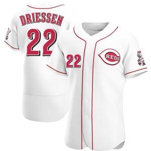 Dan Driessen Cincinnati Reds Authentic Home Jersey - White