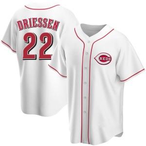 Dan Driessen Cincinnati Reds Replica Home Jersey - White