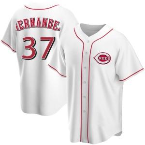 David Hernandez Cincinnati Reds Replica Home Jersey - White