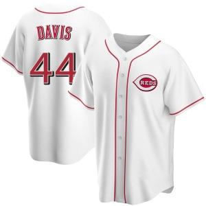 Eric Davis Cincinnati Reds Youth Replica Home Jersey - White