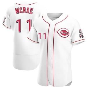 Hal Mcrae Cincinnati Reds Authentic Home Jersey - White