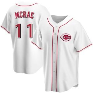 Hal Mcrae Cincinnati Reds Replica Home Jersey - White