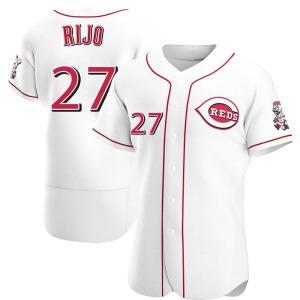 Jose Rijo Cincinnati Reds Authentic Home Jersey - White