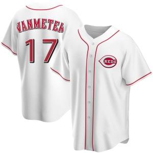 Josh VanMeter Cincinnati Reds Replica Home Jersey - White