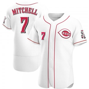 Kevin Mitchell Cincinnati Reds Authentic Home Jersey - White