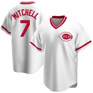 Kevin Mitchell Cincinnati Reds Replica Home Cooperstown Collection Jersey - White