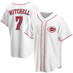 Kevin Mitchell Cincinnati Reds Replica Home Jersey - White