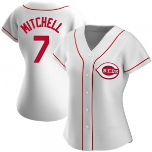 Kevin Mitchell Cincinnati Reds Women's Authentic Home Jersey - White