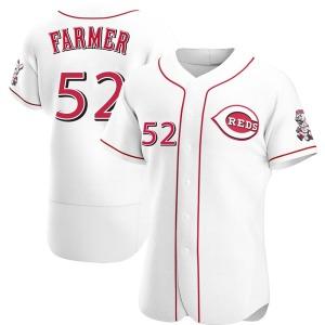 Kyle Farmer Cincinnati Reds Authentic Home Jersey - White
