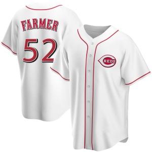 Kyle Farmer Cincinnati Reds Replica Home Jersey - White