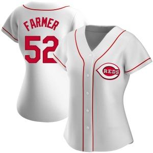 Kyle Farmer Cincinnati Reds Women's Replica Home Jersey - White