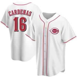 Leo Cardenas Cincinnati Reds Youth Replica Home Jersey - White