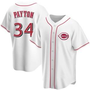 Mark Payton Cincinnati Reds Replica Home Jersey - White