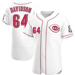 Matt Davidson Cincinnati Reds Authentic Home Jersey - White