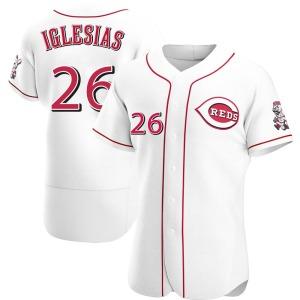 Raisel Iglesias Cincinnati Reds Authentic Home Jersey - White