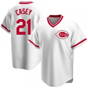 Sean Casey Cincinnati Reds Replica Home Cooperstown Collection Jersey - White