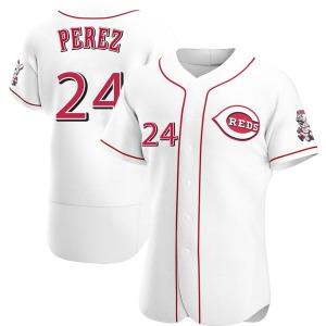 Tony Perez Cincinnati Reds Authentic Home Jersey - White