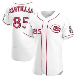 Tony Santillan Cincinnati Reds Authentic Home Jersey - White