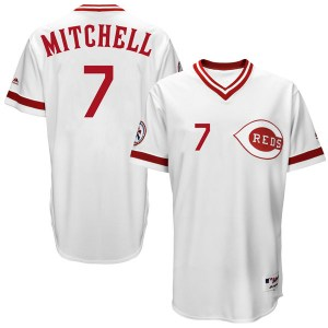 Kevin Mitchell Cincinnati Reds Replica Cool Base Turn Back the Clock Team Majestic Jersey - White