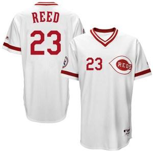 Cody Reed Cincinnati Reds Replica Cool Base Turn Back the Clock Team Majestic Jersey - White
