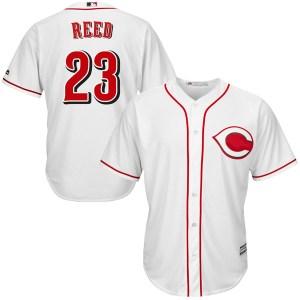 Cody Reed Cincinnati Reds Replica Cool Base Home Majestic Jersey - White