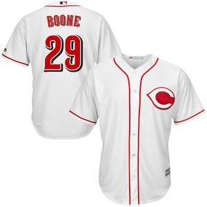 Bret Boone Cincinnati Reds Youth Replica Cool Base Home Majestic Jersey - White