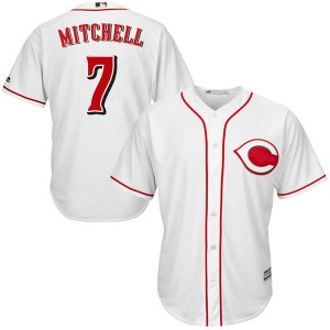 Kevin Mitchell Cincinnati Reds Youth Replica Cool Base Home Majestic Jersey - White