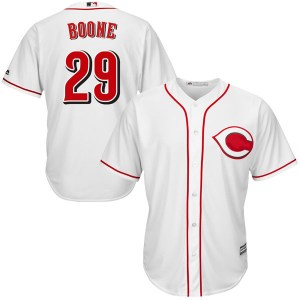 Bret Boone Cincinnati Reds Youth Authentic Cool Base Home Majestic Jersey - White