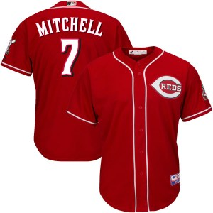 Kevin Mitchell Cincinnati Reds Youth Replica Cool Base Alternate Majestic Jersey - Red