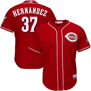 David Hernandez Cincinnati Reds Youth Authentic Cool Base Alternate Majestic Jersey - Red