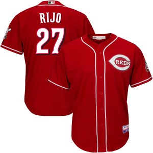 Jose Rijo Cincinnati Reds Youth Authentic Cool Base Alternate Majestic Jersey - Red